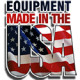 Equipment made in the USA