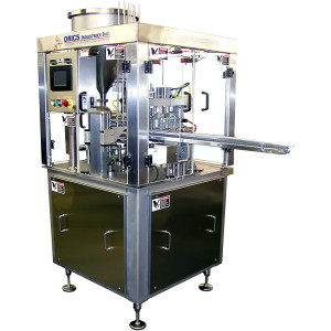 Orics MR35 Rotary Cups and Trays Filling and Sealing Machine