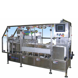 CMTS-1000 continous motion cups and trays filler sealer