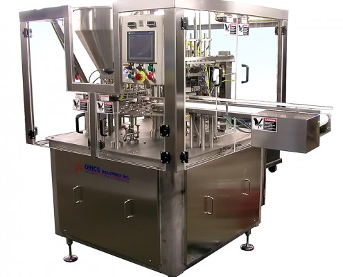 R-50 Rotary Packaging System for cups, tubs and trays