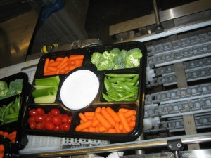 orics vegetables tray sealing