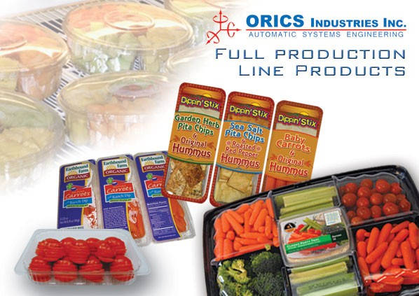 Orics vegetables packaging
