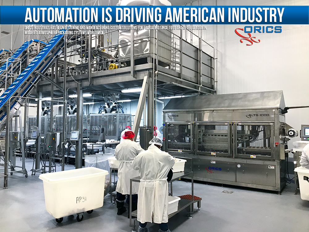 automation in food packaging
